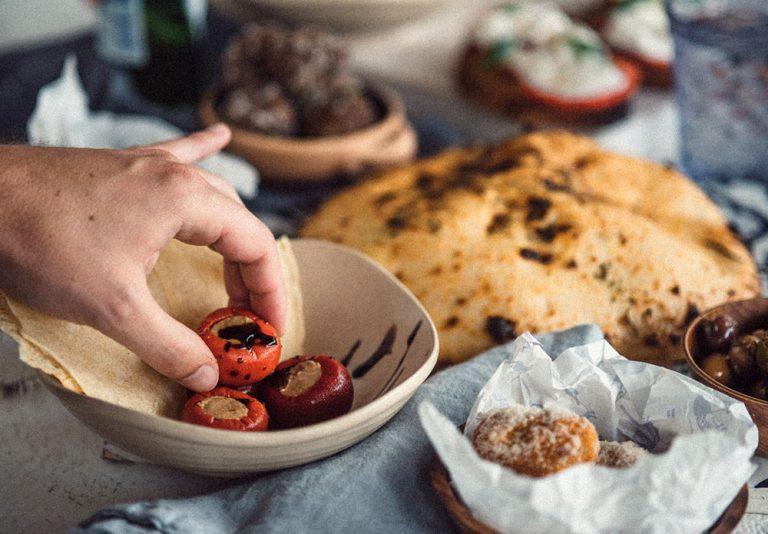 classic italian ingredients at Neutral Bay restaurant Italian Street Kitchen