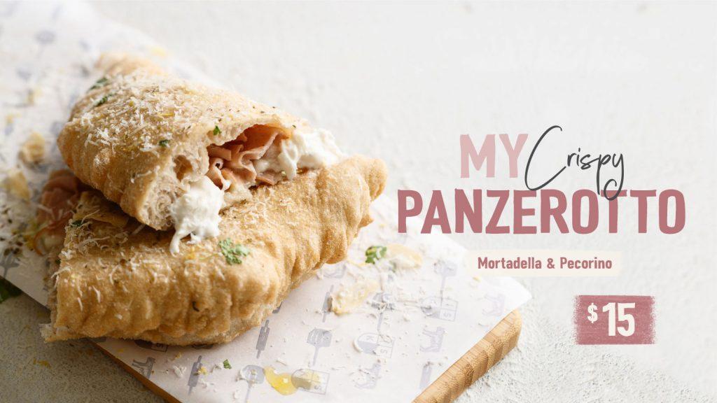 My Crispy Panzerotto Mortadella & Percorino